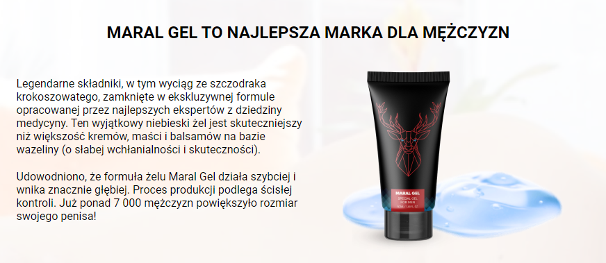 Maral Gel - co to jest